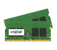 Crucial 4GB Kit (2GBx2) DDR4 2400 MT/s (PC4-19200) CL17 SR x