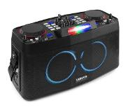VONYX CDP800 portable DJ station met dual Bluetooth