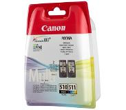Canon PG-510 / CL-511 MULTI PACK SEC VALUE PAC