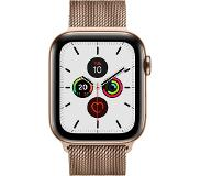 Apple Watch Series 5 GPS + Cell 44mm Steel Case Gold Loop
