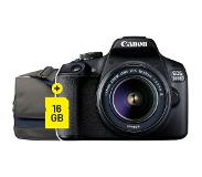 Canon EOS 2000D + 18-55mm DC III STARTER KIT