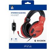 BigBen Interactive PS4 Stereo Gaming Headset V3 Rood