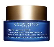 Clarins Multi-Active Nuit - Normal to Combination Skin Nachtverzorging 50ml