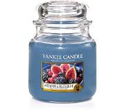 Yankee candle Medium Jar Geurkaars - Mulberry & Fig Delight