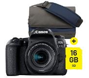 Canon EOS 77D + 18-55mm F/4-5.6 Starter Kit
