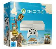 Microsoft Refurbished Microsoft Xbox One 500 GB [Special Sunset Overdrive Edition incl. draadloze controller, zonder spel] wit - Conditie: Licht gebruikt