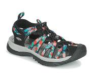 Keen Whisper Black Multi Sandalen Dames - Black Multi - Maat 41