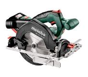 Metabo KS 18 LTX 57 18V LiHD accu cirkelzaag set in Metaloc (2x 7,0Ah accu) - 57mm