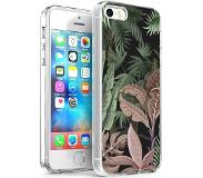 IMoshion Design hoesje voor de iPhone 5 / 5s / SE - Jungle - Groen / Roze