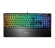 SteelSeries Apex 3 RGB Membraan Gaming Toetsenbord - Qwerty - Zwart