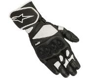 Alpinestars SP-1 V2 Black White Motorcycle Gloves M