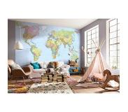 Komar Fotobehang vlies World Map 368x248 cm