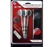 Xqmax darts XQMax - Nickel Plated Dart Set - 21 gram - 33 pcs - dartpijlen