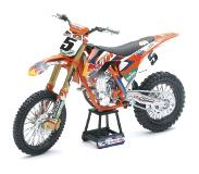 New-Ray Ryan Dungey KTM SXF450 Replica Mini Crossmotor 1/10 Schaalmodel
