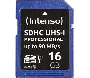 Intenso flashgeheugens 16GB SDHC