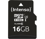 Intenso 3433470 16GB Micro SDHC UHS Class 10 flashgeheugen