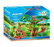 Playmobil Family Fun Orang Utans in boom 70345