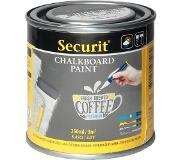 Securit Krijtverf-schoolbordverf-chalkboard paint GRIJS 250 ML