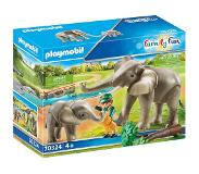 Playmobil Family Fun Olifantenverblijf (70324)