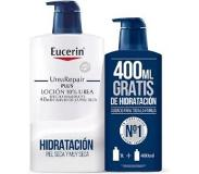 Eucerin Family Pack Locion Urea Repair 1000ml + 400ml