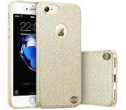 HEM Apple iPhone 5/5S/SE Gouden Switch Glitter hoesje Shock 1000 in 1