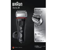 Braun Scheerapparaat 8340S Black/Red