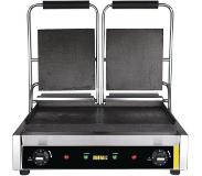 Buffalo bistro contact grill dubbel glad/glad | 2900Watt