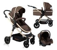 Baninni Kinderwagen Ayo 3 in 1 Sugar Brown