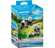 Playmobil Family Fun 2 Panda's met baby - 70353