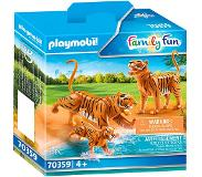 Playmobil - Tigers with Cub (70359)