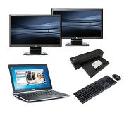 Dell Latitude E6230 - Intel Core i5 - 4GB - 320GB HDD + Docking + Dual 2x 22'' Widescreen Monitor