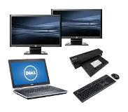 Dell Latitude E6430 - Intel Core i5 - 4GB - 320GB HDD + Docking + Dual 2x 24'' Widescreen Monitor