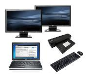 Dell Latitude E6520 - Intel Core i5 - 4GB - 320GB HDD + Docking + Dual 2x 23'' Widescreen Monitor