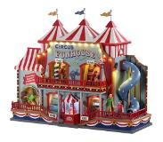 Lemax Circus funhouse, with 4.5v adaptor