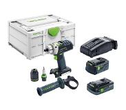 Festool PDC 18/4 5,2/4,0 I-Plus-SCA QUADRIVE Accu klopboormachine 576472