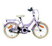 Bike Fun Lots Of Love - Kinderfiets - Dames - Paars - 18 Inch