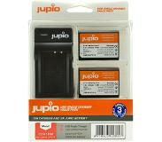 Jupio Kit: Battery LP-E10 (2x) + USB Single Charger