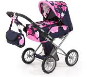 Bayer - Dolls Pram - City Star - Navy (13669AA)