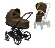 Cybex Kinderwagen PRIAM Khaki Green/Khaki Brown