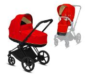 Cybex Kinderwagen PRIAM Autumn Gold / Burnt Red