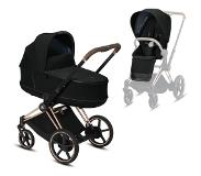 Cybex Kinderwagen e-PRIAM Deep Black / Black
