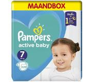 Pampers Active Baby Dry Maat 7 – 120 Luiers Maandbox