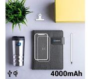 BigBuy Notitieblok met powerbank 4000 mAh 16 GB (20 vellen) 146025
