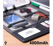BigBuy Folder met powerbank 4000 mAh (20 vellen) 146024