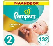 Pampers Premium Care Maat 2 - 132 Luiers Maandbox