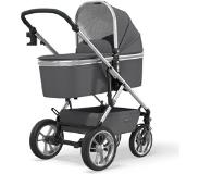 Moon Combinatie kinderwagen Nuova Silver /Anthraciet Collectie 2021