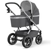 Moon Combi-kinderwagen Nuova Air Silver /Anthraciet Collectie 2021