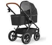 Moon Combi-kinderwagen Nuova Air Black / Black Collectie 2021