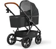 Moon Combi kinderwagen Nuova Black / Black Collectie 2021