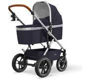 Moon Combi-kinderwagen Nuova Air Silver /Navy Collection 2021